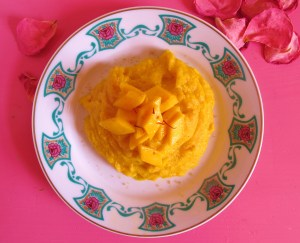 Mango-Kokos-Polenta.