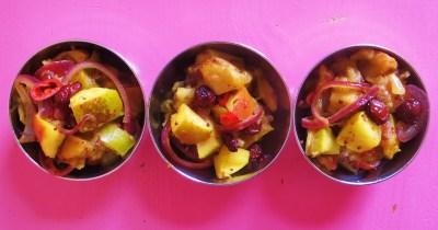 Apfel-Cranberry-Chutney.