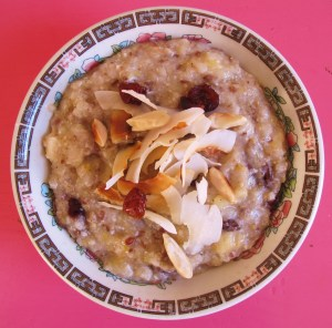 power-porridge sportler-porridge ayurveda-fruehstueck ayurveda rolling-tiger copyright by julia-wunderlich