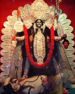 Kali-Puja Durga-Puja kali-verehrung bengalen copyright by julia wunderlich 1