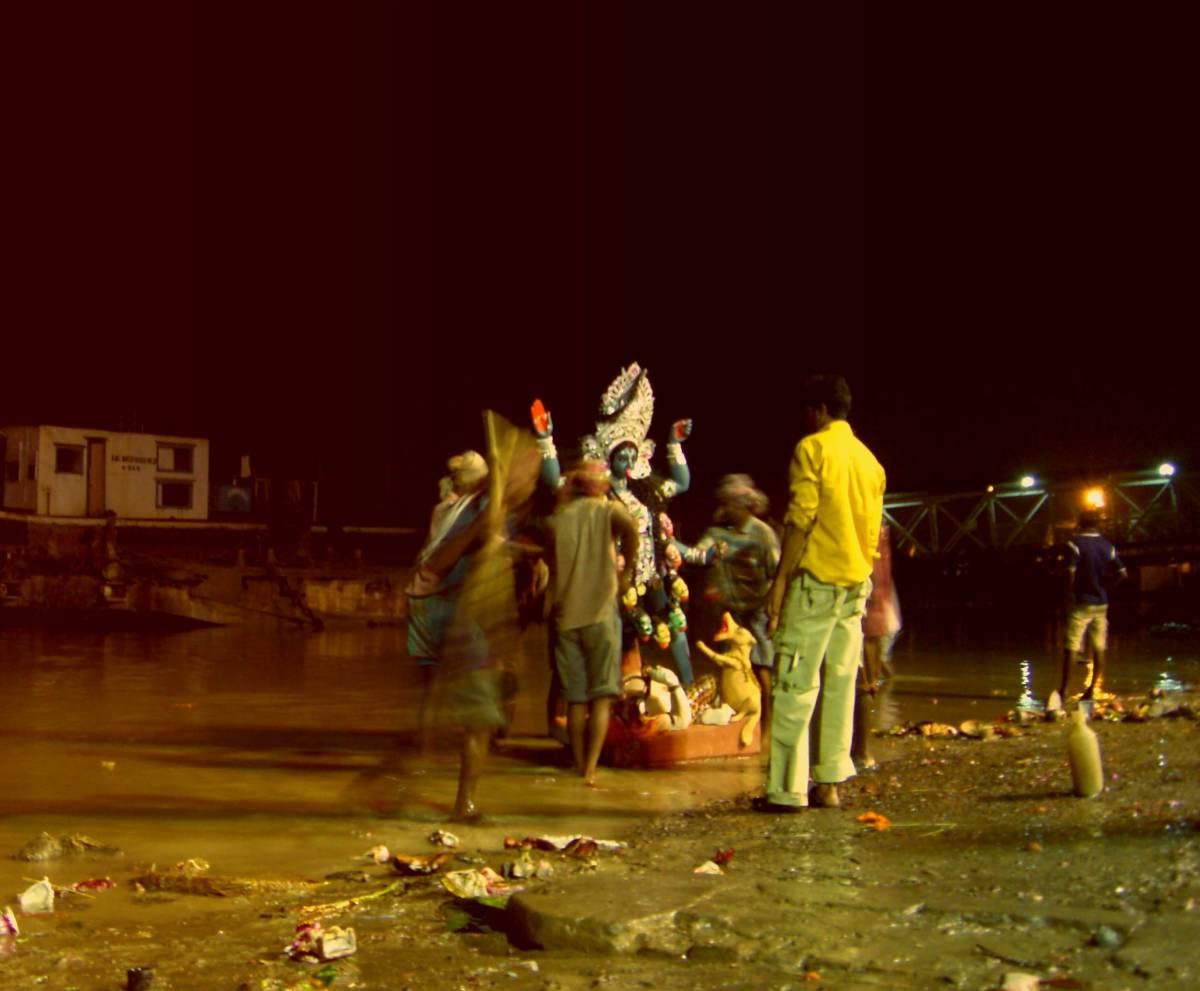 Kali-Puja Durga-Puja kali-verehrung bengalen copyright by julia wunderlich 2