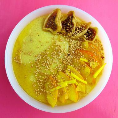 Hirse Detox-Porridge.